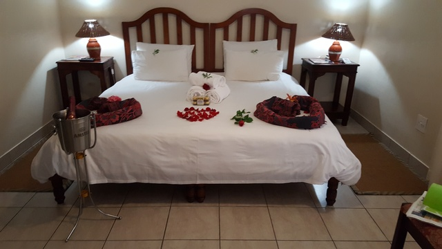 Romantic room set-up