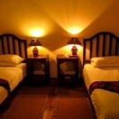 Twin en-suite room at Nabana Lodge, affordable accommodation near Hazyview
