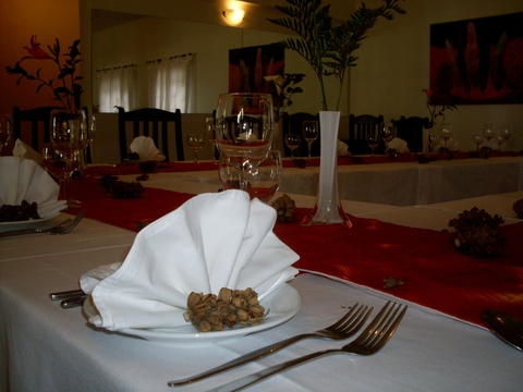 Hazyview catering fuinction venue, Thyme restaurant at Nabana Lodge catering venue
