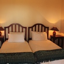 Twin en-suite room at  Nabana Lodge, affordable accommodation near the Kruger National Park