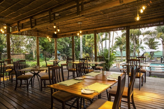Accommodation Hazyview Lodge with restaurant, Thyme Restaurant at Nabana Lodge Hazyview