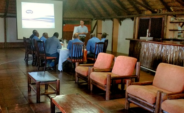 Large conference venue seating up to 60 at Nabana Lodge