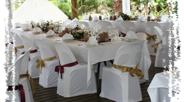 Catering for weddings at Nabana Lodge