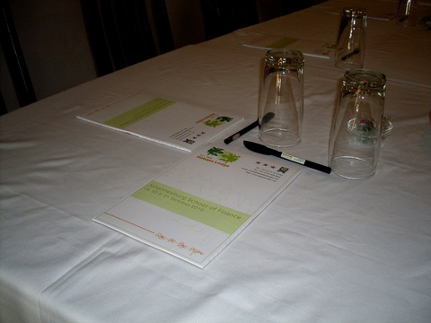 Personalised Conference Material at Nabana Lodge