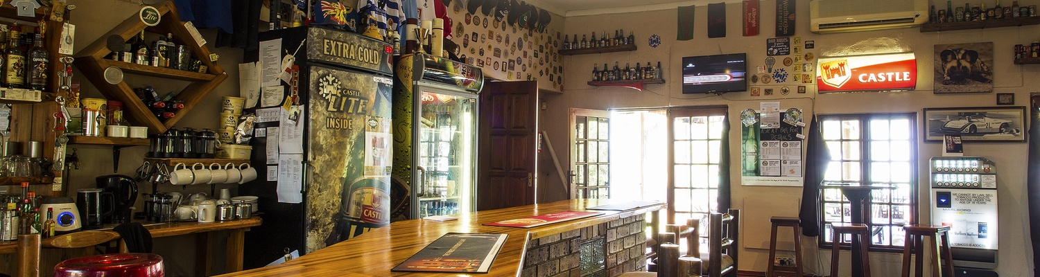 Sportman's pub at Nabana Lodge accommodation near Hazyview