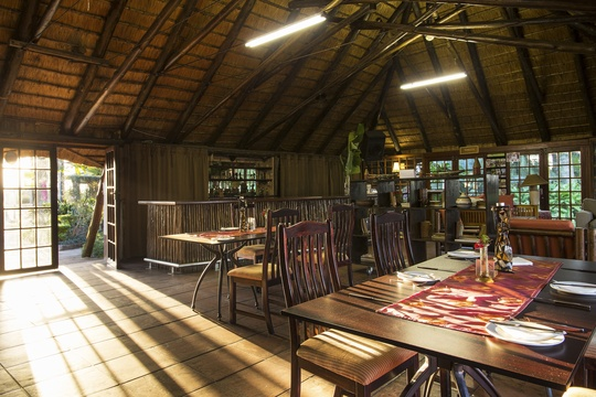 Casual dining in Hazyview, Thyme restaurant at Nabana Lodge Hazyview casual dining