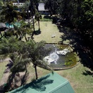 Drone image of gardens at Nabana Lodge, near Kruger National Park and Panorama Route