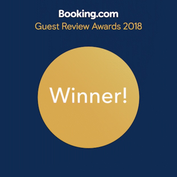 Booking.com 2019 award, Accommodation award, Nabana Lodge