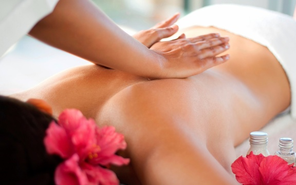 Indulge in a couple's massage at Nabana Lodge
