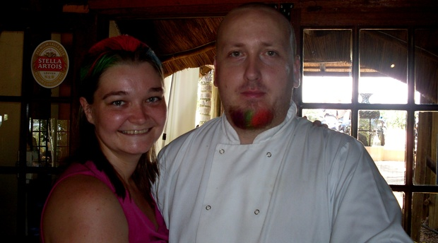 Paul Shepheard, chef and proprietor of Thyme Restaurant at Nabana Lodge