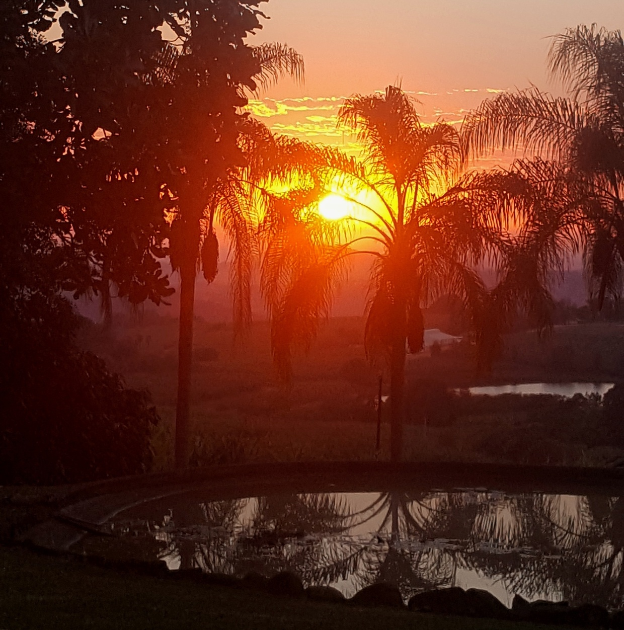 Sunrise view at Nabana Lodge